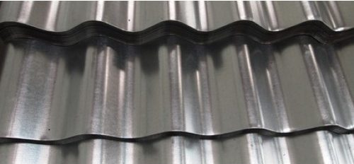 0.5mm Corrugated Galvanised roofing sheets