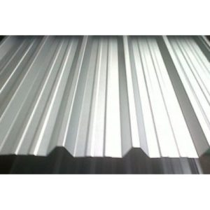 0.5mm Plain Galvanised roofing sheets