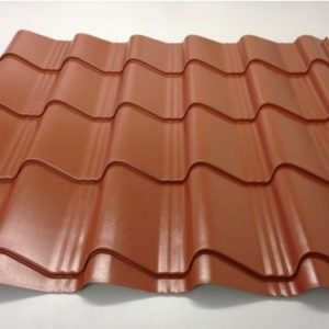 0.5mm Polyester Coated roofing sheets